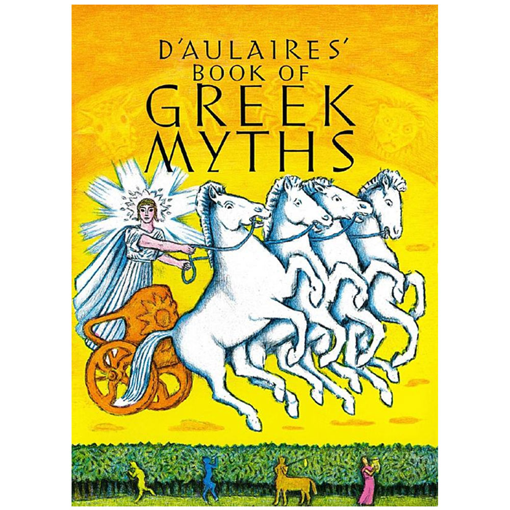 d'Aulaires' Book of Greek Myths, by Ingri and Edgar Parin d'Aulaire